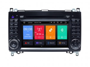 MERCEDES W169, W245, VIANO, VITO - МУЛТИМЕДИЯ / Навигация ANDROID 10 DVD + DSP + CarPlay