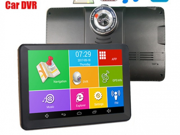 V78D 8 в 1 - GPS навигация + DVR + TABLET + FM + BT + WIFI +AV-IN + Камерa