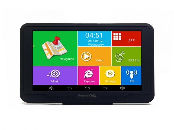 GPS Hesperus V52 Android QUAD CORE + FM + BT + WIFI +AV-IN