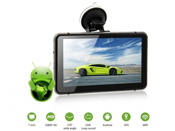 V75DS 8 в 1 - GPS навигация + DVR + TABLET + FM + BT + WIFI +AV-IN + Камерa