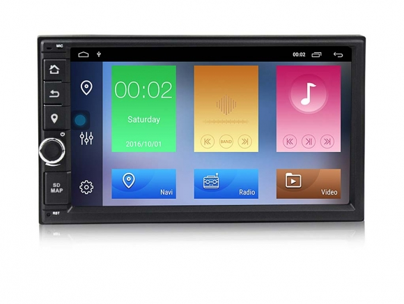 УНИВЕРСАЛНА МУЛТИМЕДИЯ ЗА КОЛА GPS Android 10 2DIN-70Z7060